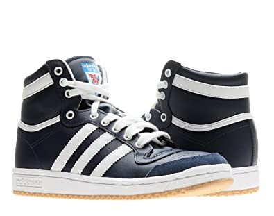 outlet store 1a5e3 2f56f adidas Originals Top Ten Hi J Boys Basketball Shoes D74480 New Navy Running  White 6.5 M