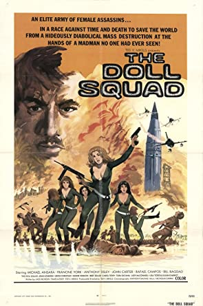 "The Doll Squad 1973 Authentic 27"" x 41"" Original Movie Poster Fine, Very"