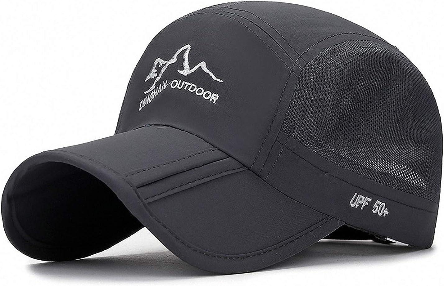 Ulalaza Einstellbare atmungsaktive leichte Quick Dry Mesh UV-Schutz Sonnenhut UPF50 Kinder Kinder Baseball Caps Jungen M/ädchen