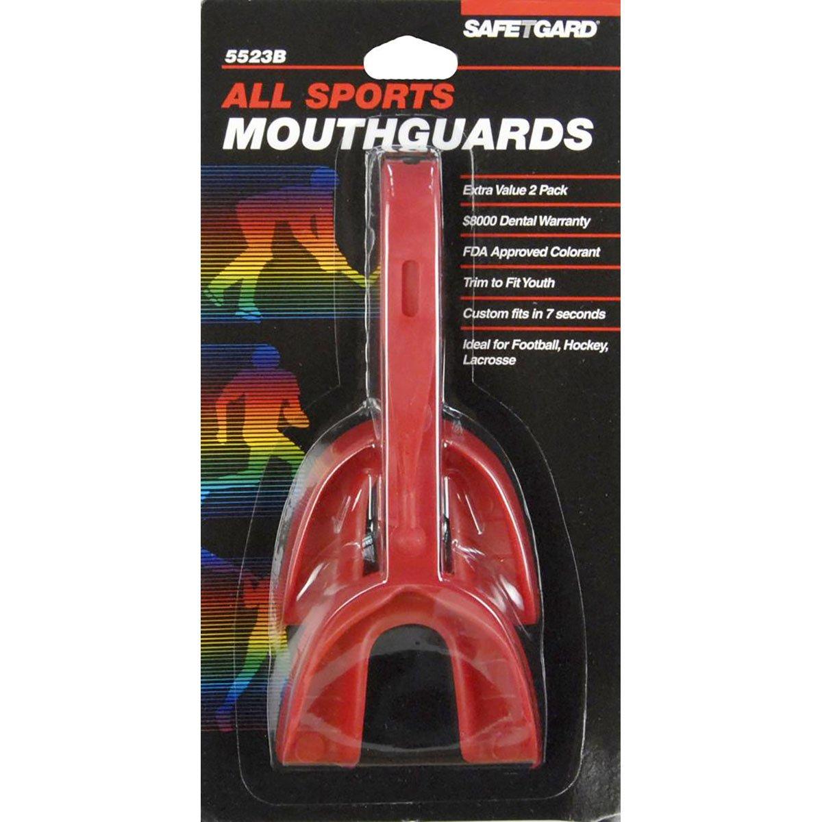 高級ブランド Safetgard Two Safetgard Pack Mouthguard by with Keeper Two Straps Adult by Safe-T-Gard B0010FO8MU, JHB:dbb0d8ca --- a0267596.xsph.ru