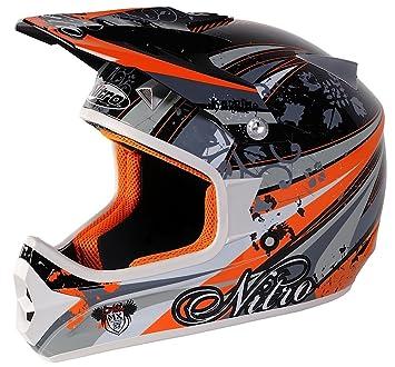 Nitro motocicleta moto casco de Motocross
