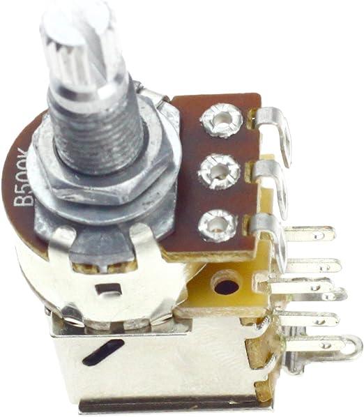 ENET B500K Ohm - Bote Interruptor de Control de Potenciómetro para ...