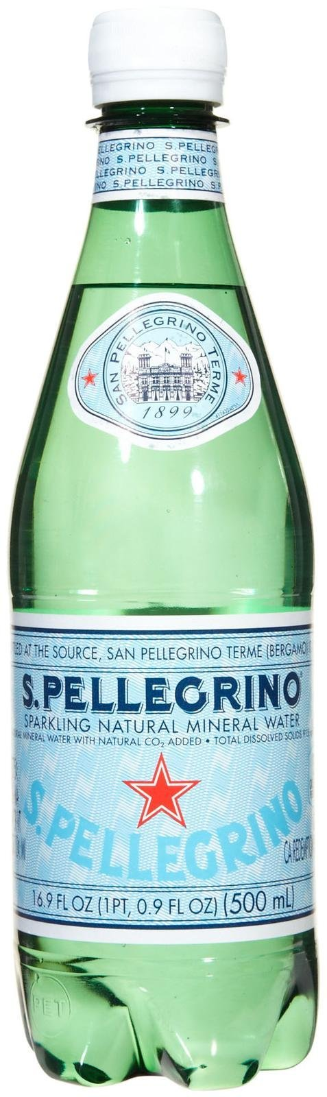 San Pellegrino Sparkling Natural Mineral Water, 25.3-ounce glass bottles (Pack of 12) by San Pellegrino