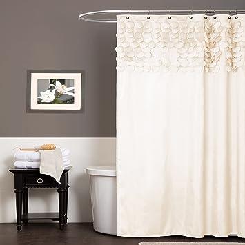 amazon com lush decor lillian shower curtain 72 inch by 72 inch