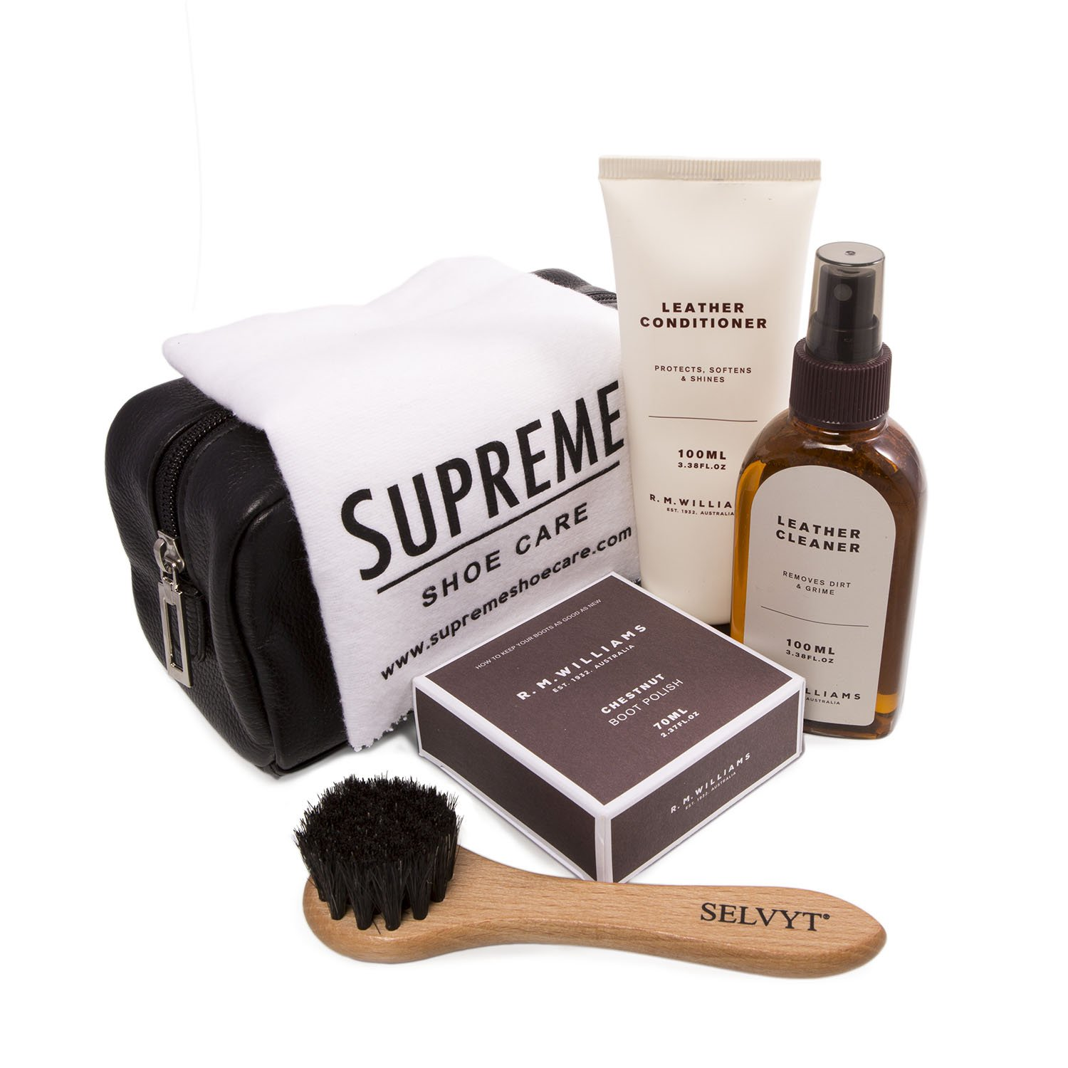 R M Williams Men's Luxury Shoe Care Kit One Size Neutral