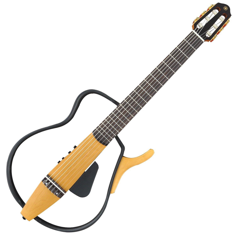 yamaha slg110n silent guitar nylon string musical