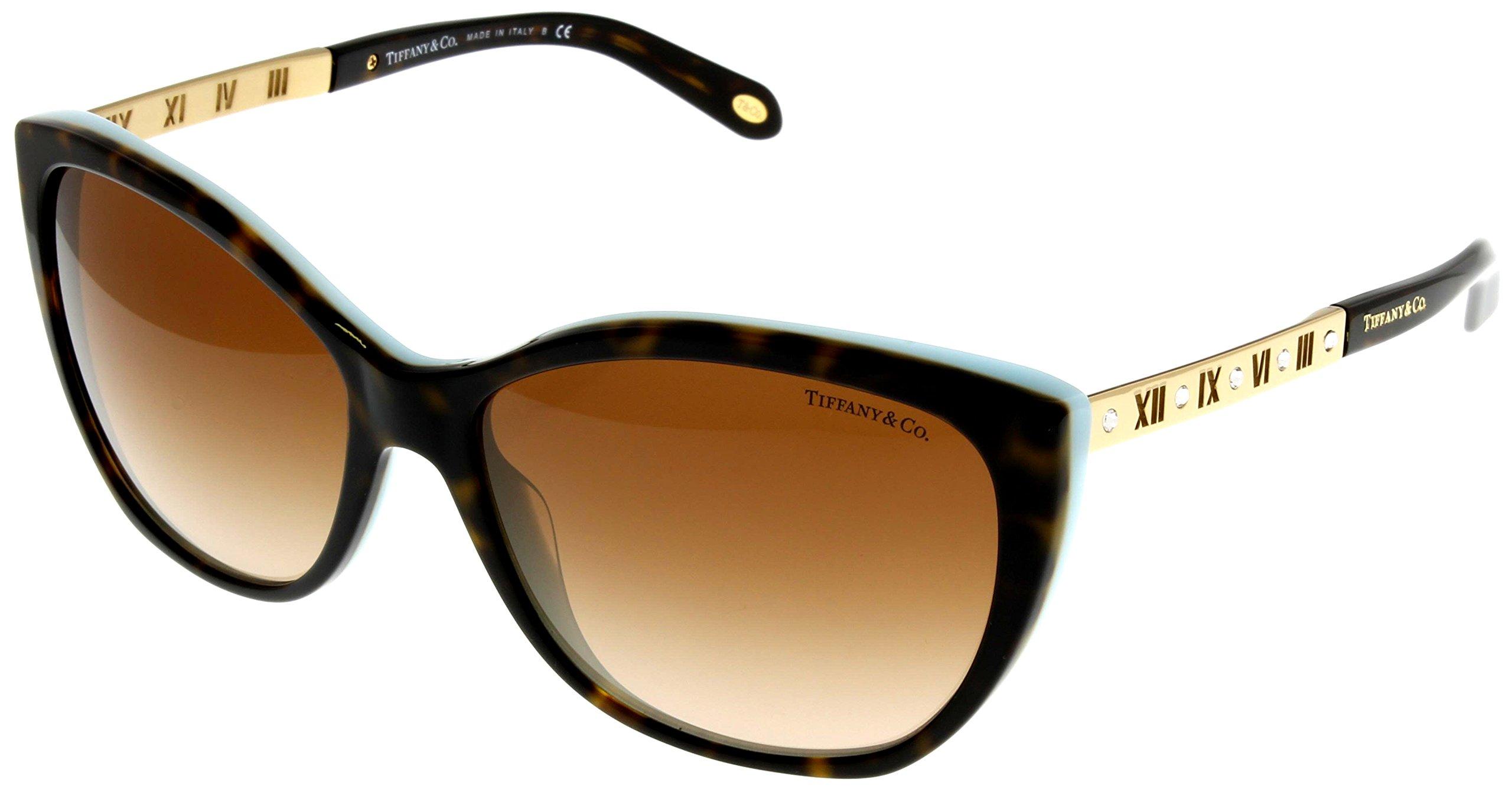 Tiffany & Co Sunglasses Womens Havana Butterfly TF4094B 81343B