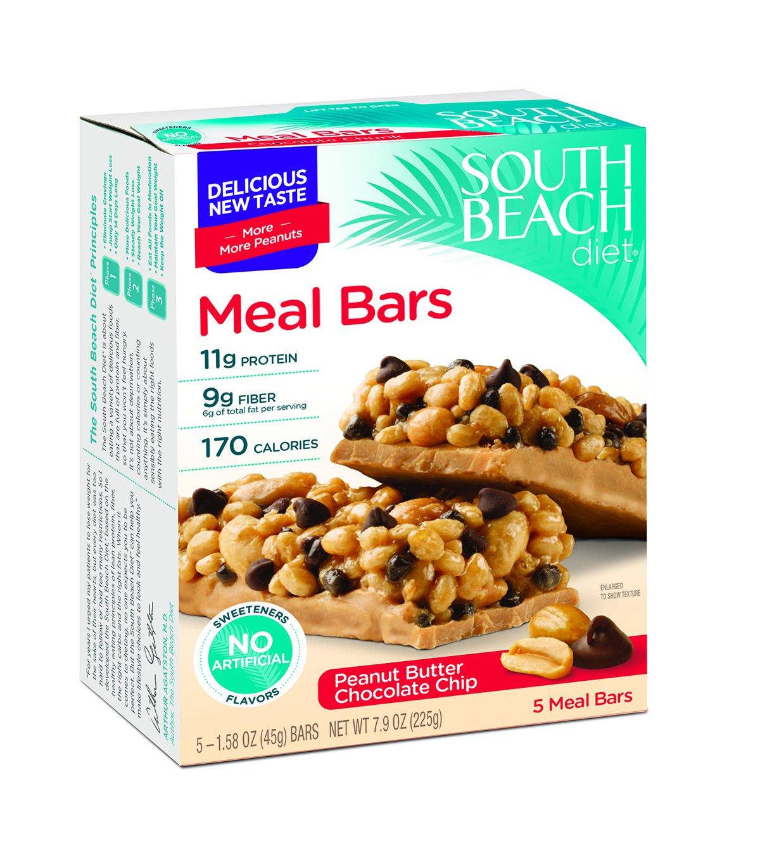 south beach diet good to go bars