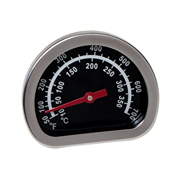 Grill Mark Box Lid Grill Thermometer - 1.77""