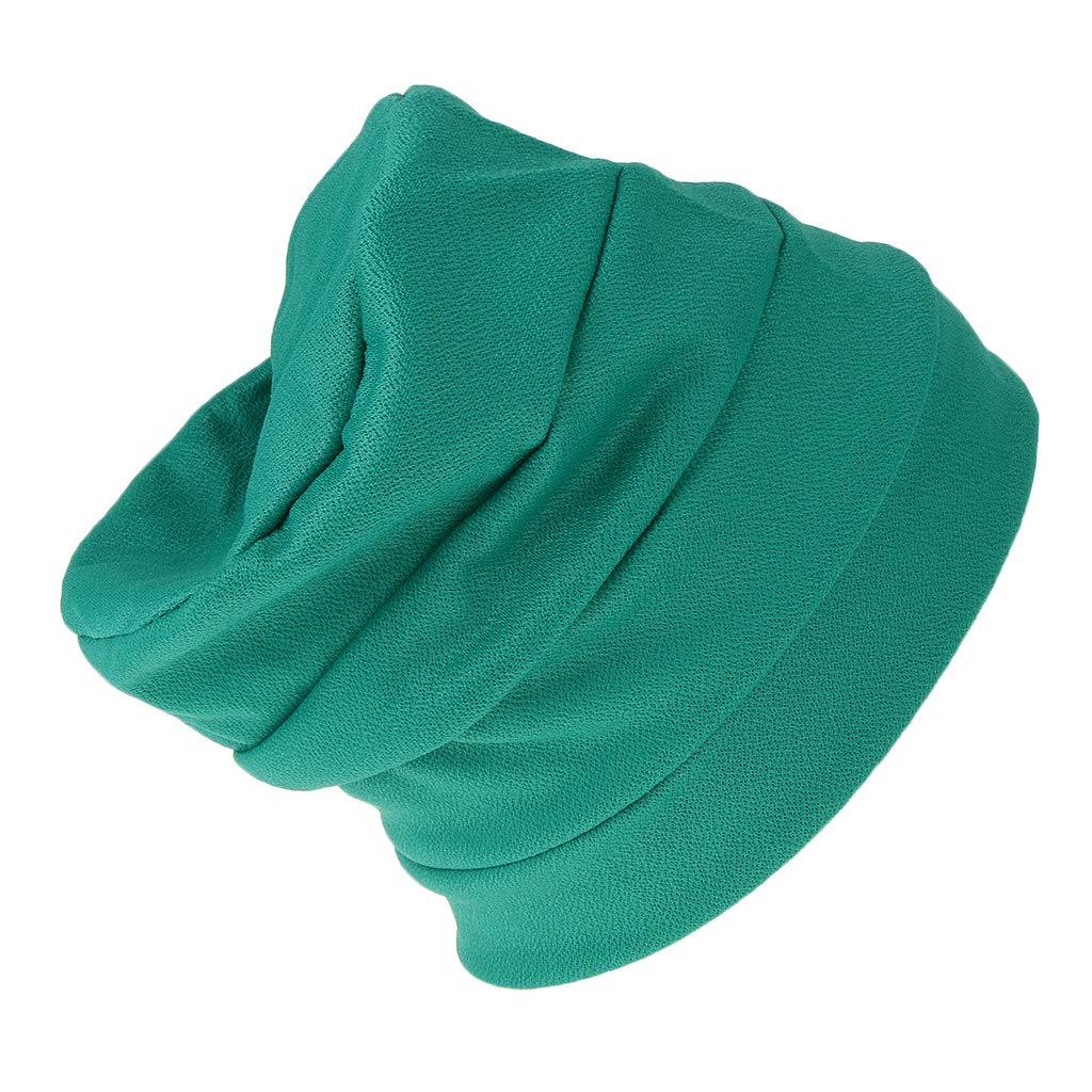 F Fityle Sciarpa Turbante Elastico Traspirante Morbido Comodo Per Regalo Donna Ragazza
