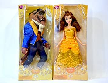 7c3a457790537 ディズニー映画・「美女と野獣」より Classic Disney Princess Belle   Beast Doll