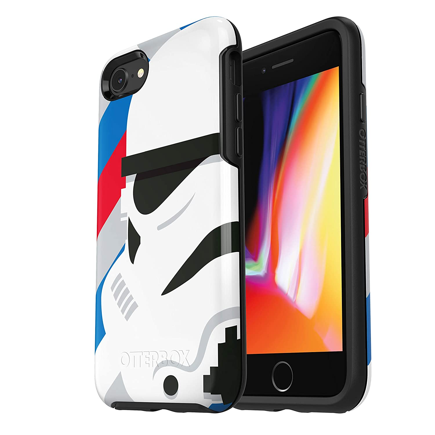 buy popular ed90b 9de53 OtterBox SYMMETRY SERIES STAR WARS Case for iPhone 8 & iPhone 7 (NOT Plus)  - Retail Packaging - STORMTROOPER