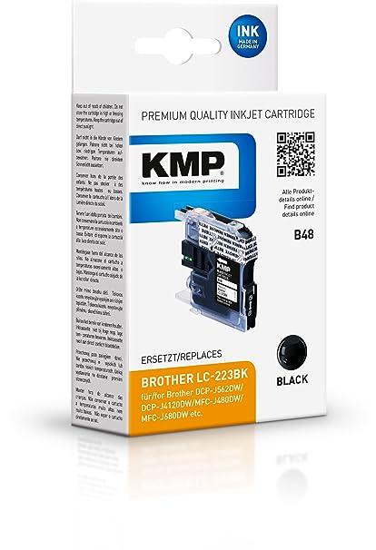 KMP B48 12ml 550páginas Negro cartucho de tinta - Cartucho ...