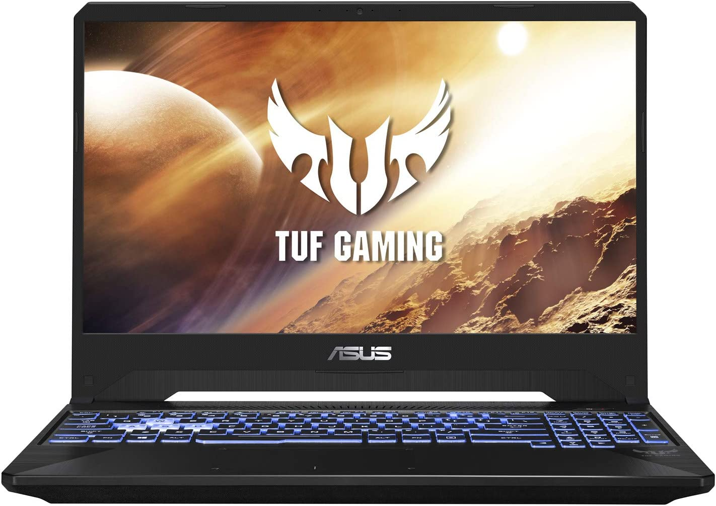 "2019 ASUS TUF 15.6"" FHD Gaming Laptop Computer, AMD Ryzen 7 3750H Quad-Core up to 4.0GHz, 8GB DDR4 RAM, 256GB PCIe SSD, GeForce GTX 1660 Ti 6GB, 802.11ac WiFi, Bluetooth 4.2, USB 3.1, Windows 10"