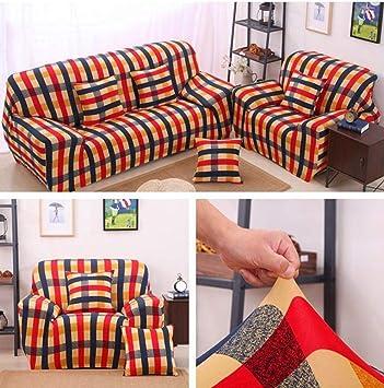 Amazon.com: Funda de sofá de diseño para baño, elástica ...