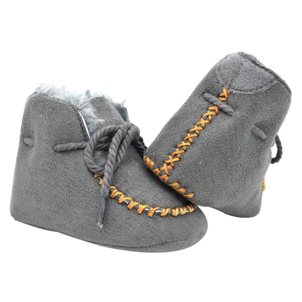 Baby Girls 0-18 Months CottonSoft Sole Snow Boots Outdoor Shoes Prewalker Shoes Egmy Baby Shoes