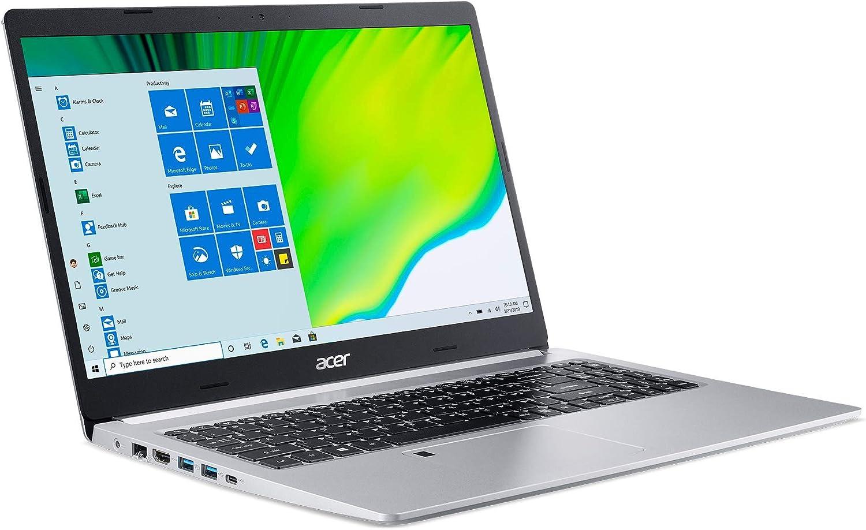 "Acer Aspire 5 A515-44-R93G, 15.6"" Full HD, AMD Ryzen 3 4300U Mobile Processor with Radeon Graphics, 4GB DDR4, 128GB NVMe SSD, WiFi 5, HD Webcam, Fingerprint Reader, Backlit Keyboard, Windows 10 S"