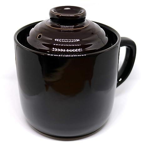 Amazon.com: Taza de cocina de arroz (negro) para 1 taza ...