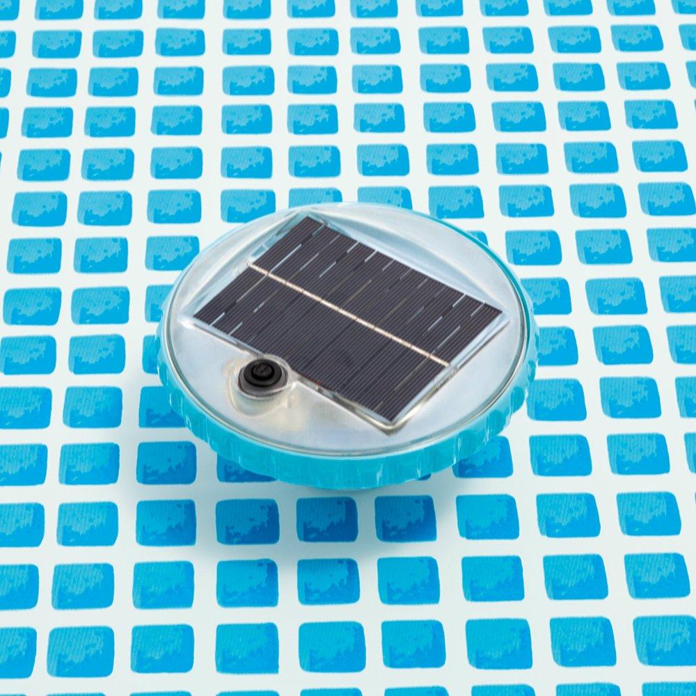 solarbetrieben mit Auto-ON bei Nacht Intex Schwimmende LED Pool Licht
