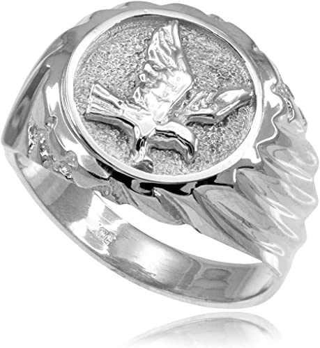 Sterling Silver High Polished Finish Sea Lions Ring