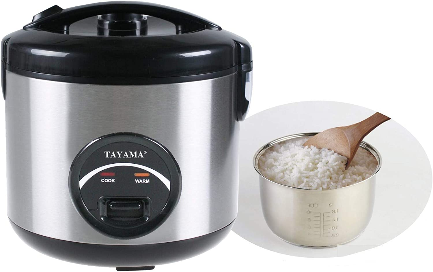 Tayama Stainless Steel Rice Cooker