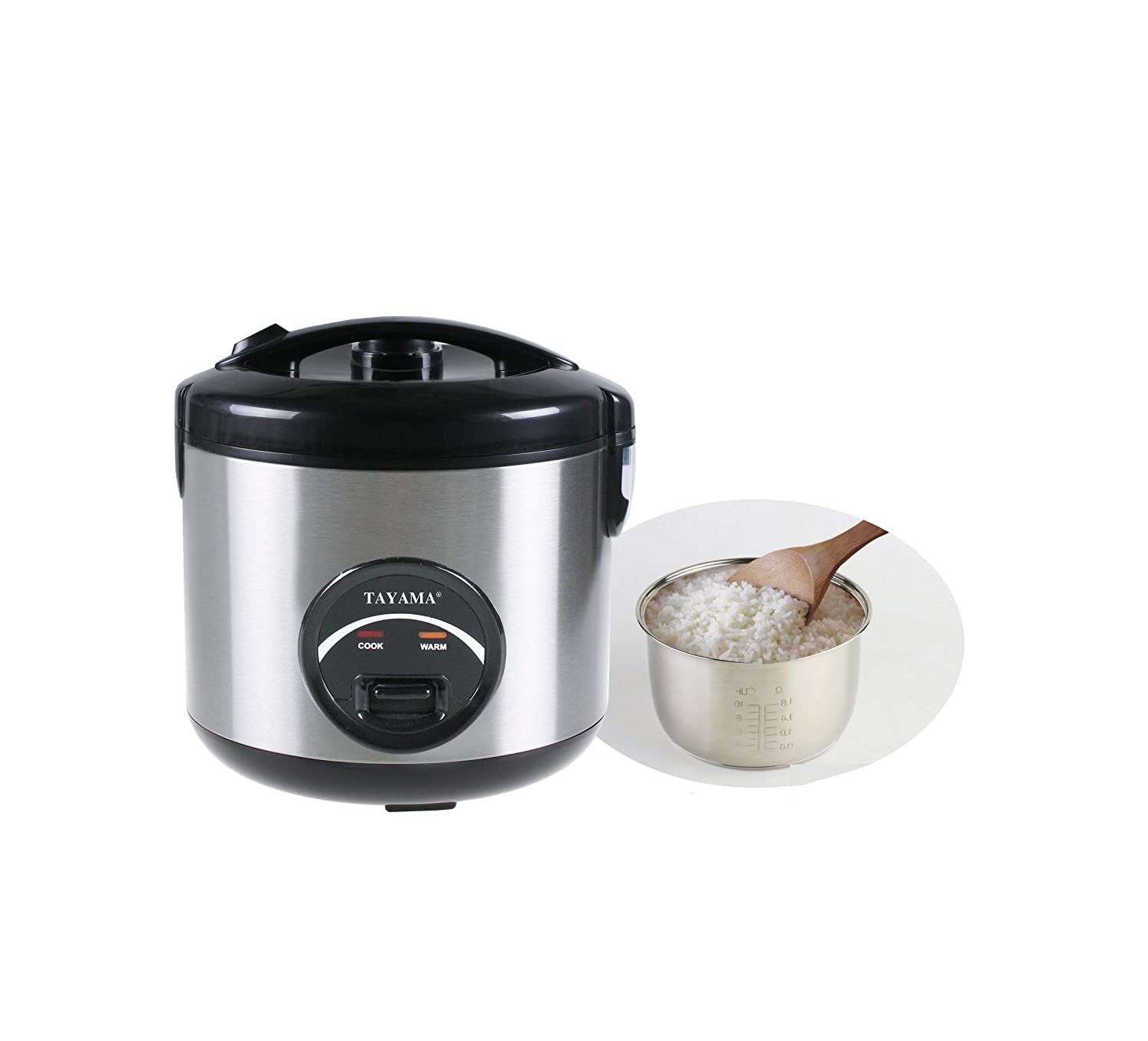 Tayama 10 Cup Stainless Steel Rice Cooker by TAYAMA   B000LEDVE2