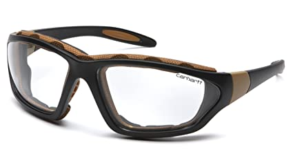 c79d2b07278 Amazon.com  Carhartt Carthage Safety Eyewear with Vented Foam ...