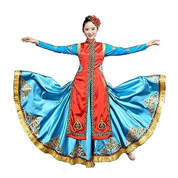 Byjia Mongolischer Tanz Flamenco Kleider Ethnische Minderheiten ...