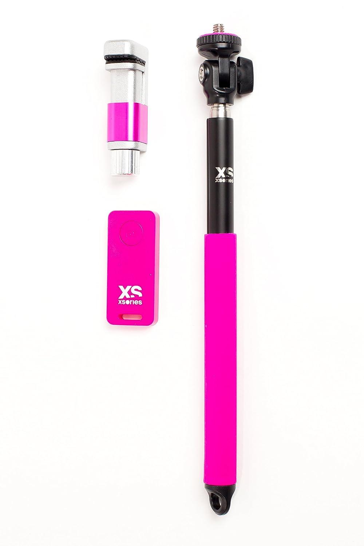 Xsories Me Shot Deluxe 2.0 Perche pour Appareil photo//Smartphone Noir//Orange