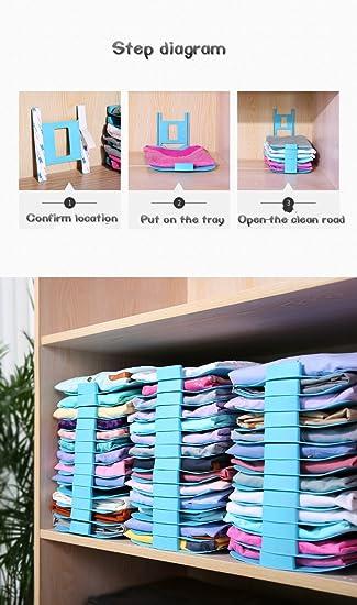 Genial Closet Organizer, V Mix Clothes/T Shirt Underwear Folder With 12