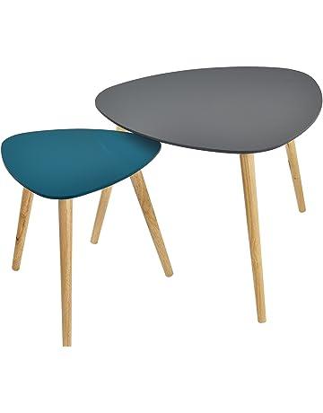 Tavolo Ikea Vetro E Ferro.Tavoli Da Divano Per Soggiorno Amazon It