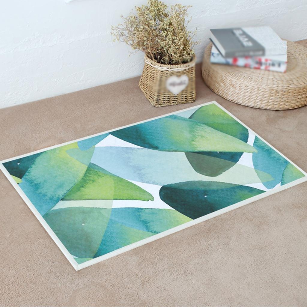 4-5080CM DYI Mat, kitchen living room bedroom carpet, bathroom door mat, rectangular non-slip feet mat