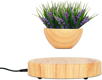 Amazon Com Trycooling Levitating Air Plant Pot Small Decorative Flower Pot Resin Floating Bonsai Pot For Office Home Decor Not Include Plant Garden Outdoor