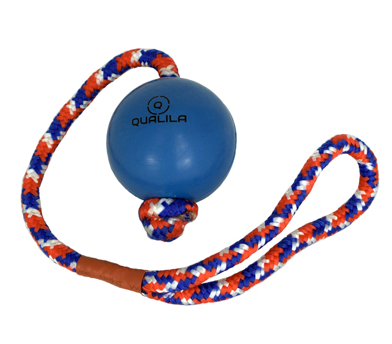 Qualila - Juego de 3 Juguetes para Perro, Diseño de Bola de Cuerda ...