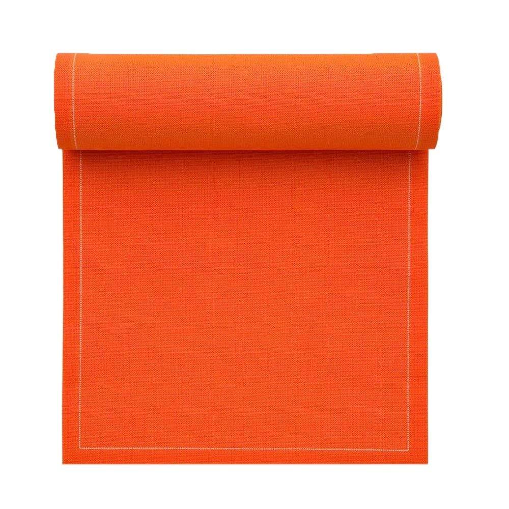Cotton Luncheon Napkin - 7.9 x 7.9 in - 25 units per roll - Orange