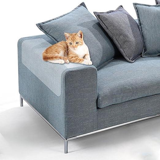 KOBWA Protector de Muebles Cat Scratch Guard - Protectores de Vinilo para Mascotas Protector de Muebles para Gatos Con Almohadillas Autoadhesivas Para ...