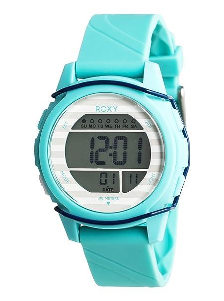 Roxy - Reloj Digital - Mujer - ONE SIZE - Azul: Amazon.es: Ropa y accesorios