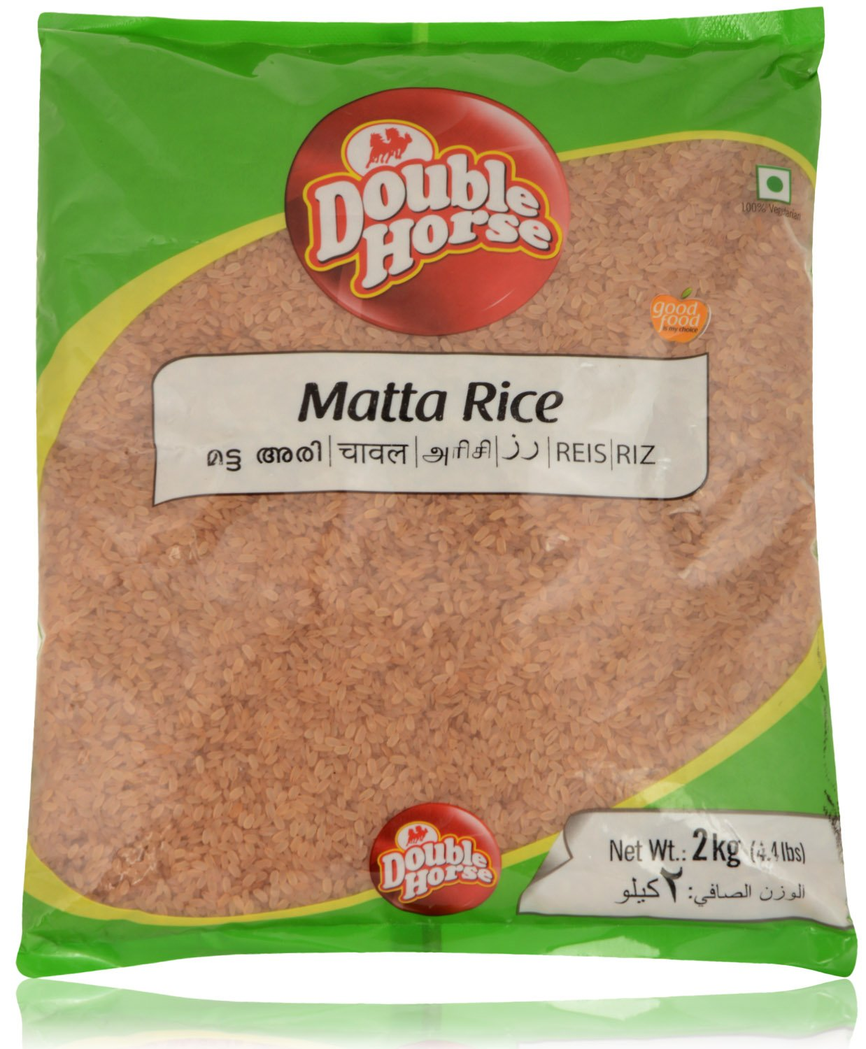 Double Horse Palakkadan Matta Rice 2 kg (Short Grain): Amazon.in ... : trasmatta plast : Inredning