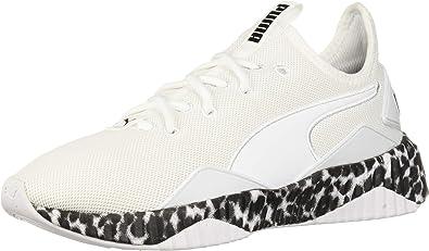 PUMA Womens Defy Leopard Mesh Animal