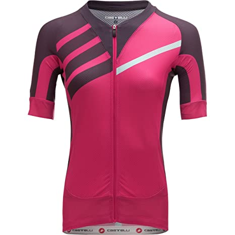 21321709e Castelli Aero Race Limited Edition Jersey - Women s Alba Pink Anthracite