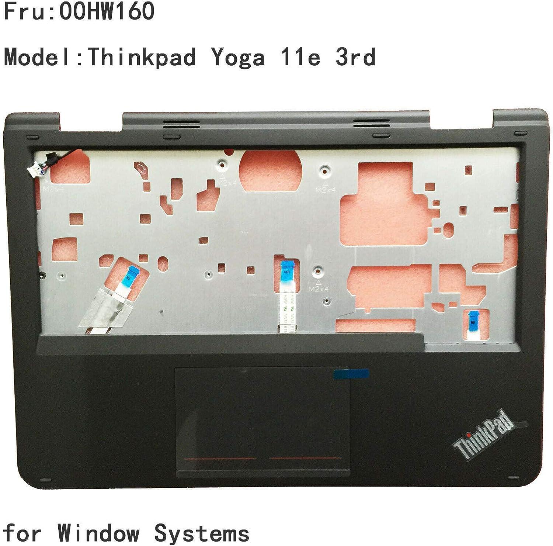 New for Lenovo Thinkpad Yoga 11e 3rd 3nd Palmrest Keyboard Bezel Touchpad 00HW160