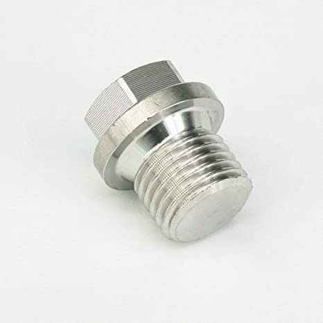 M8-M30 Metric Male SS304 Countersunk Plug With Flange Hex Head Socket