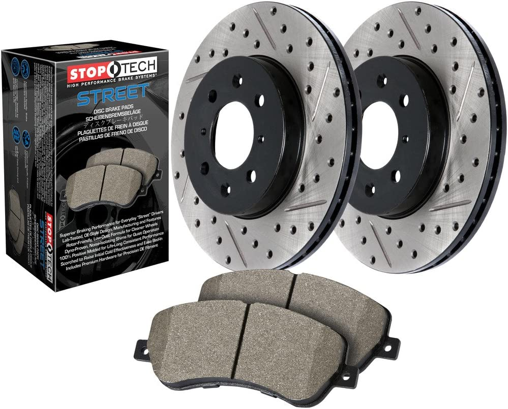 SLT//DRL StopTech 938.47503 Street Pack Rear Brake Kit