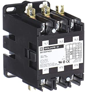 SQUARE D BY SCHNEIDER ELECTRIC  8910DPA12V02  CONTACTOR 30 AMP 600V