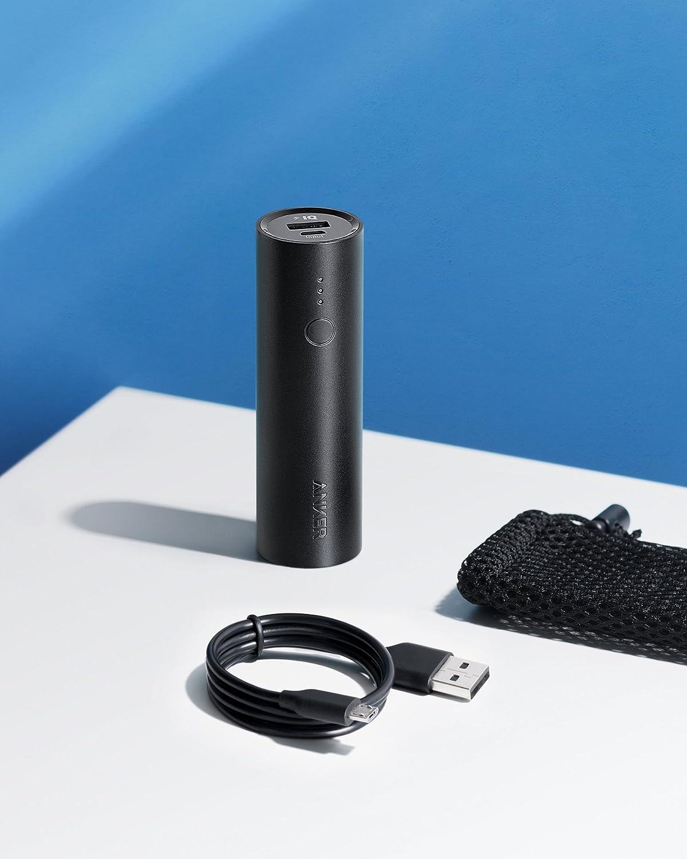 Anker Batterie Externe Powercore 5000mah Portable Ultra 5000 Un White A1109021 Compacte Avec Technologies Poweriq Voltageboost High Tech