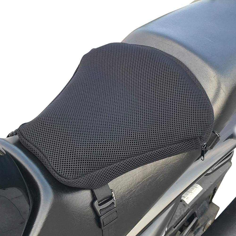 Fits Most Seats of Sport Touring Universal Cushion Mat Motorcycle Accessories Protection Pad Air-Bag Inflatable Breathable Non-Slip Shock Absorption Motorcycle Seat Cushion