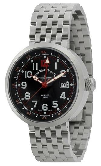 Zeno-Watch Reloj Mujer - Rondo GMT (Dual Time) - B554Q-GMT