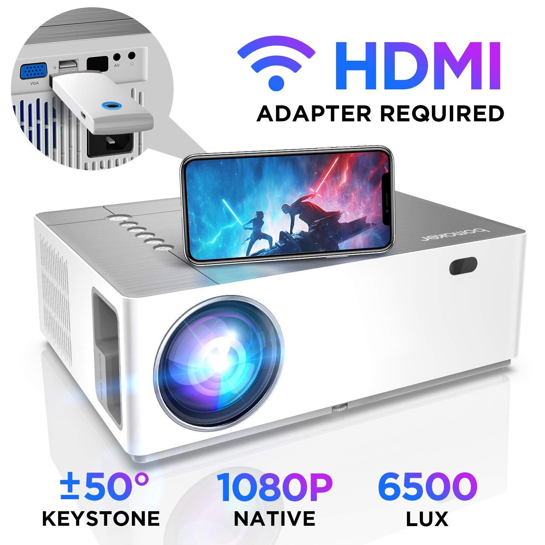Proyector Full HD 1080p Nativo 6000 Lúmenes BOMAKER, Soporta 4K ...