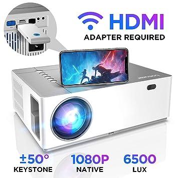 Proyector Full HD 1080p Nativo 6500 Lúmenes BOMAKER, 4D Corrección ...