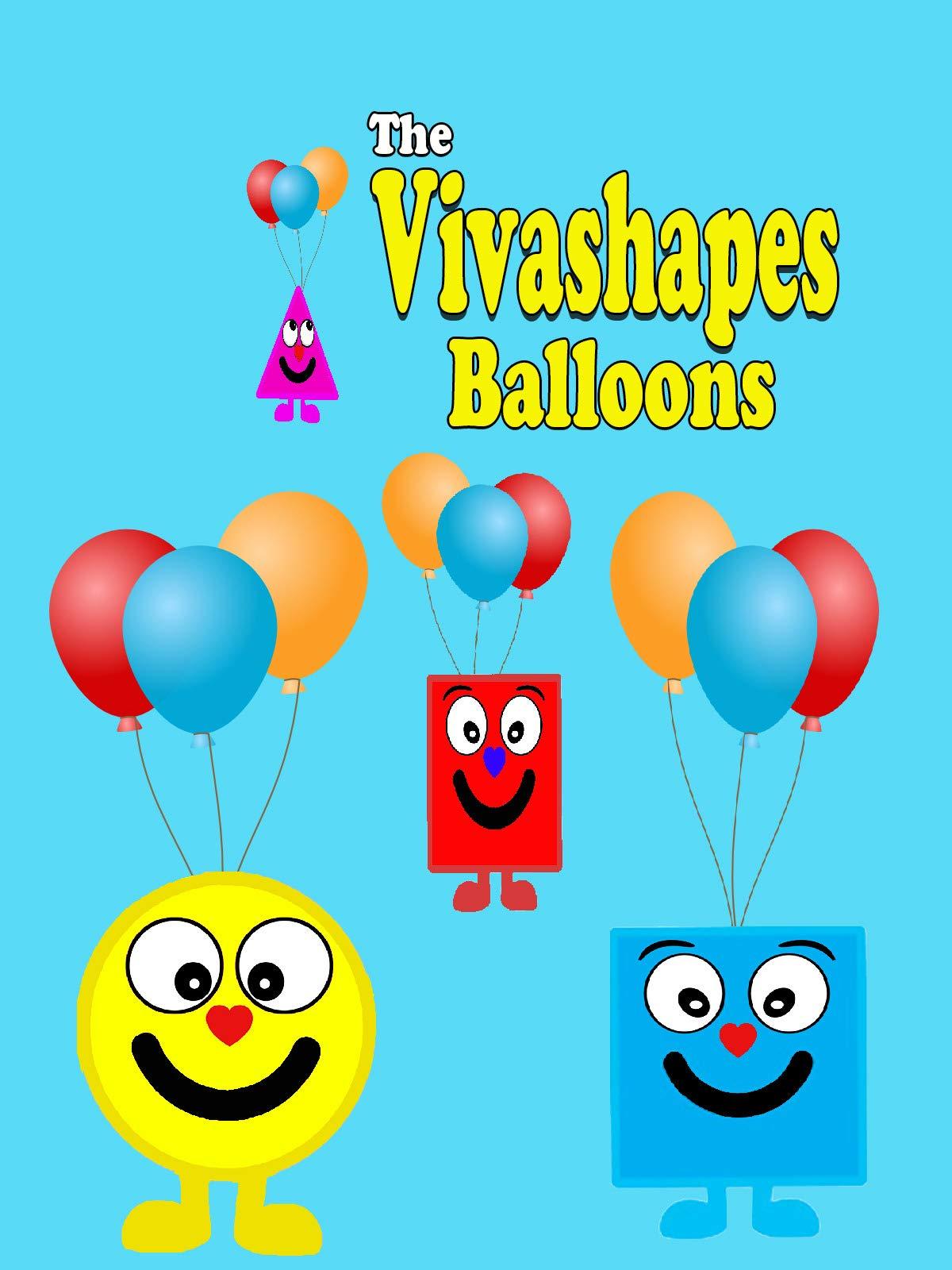 The Vivashapes Balloons on Amazon Prime Video UK